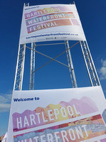 Banners for Waterfront Festival